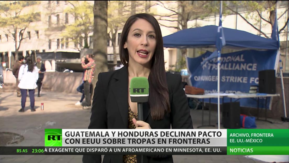 Guatemala y Honduras declinan pacto con EE.UU. sobre tropas en fronteras