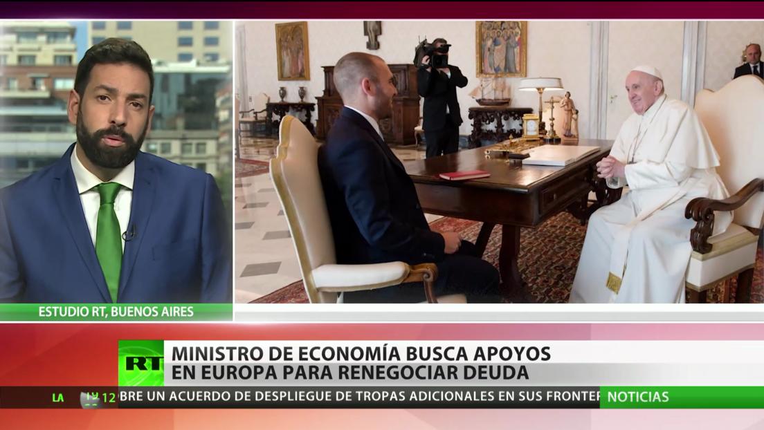 El ministro de Economía de Argentina busca apoyos en Europa para renegociar su deuda