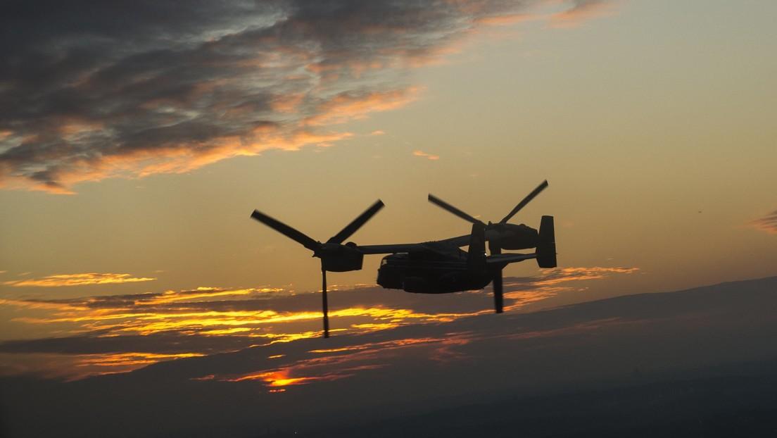 Una aeronave militar de EE.UU. aterriza en un aeropuerto de Japón sin previo aviso a los controladores aéreos