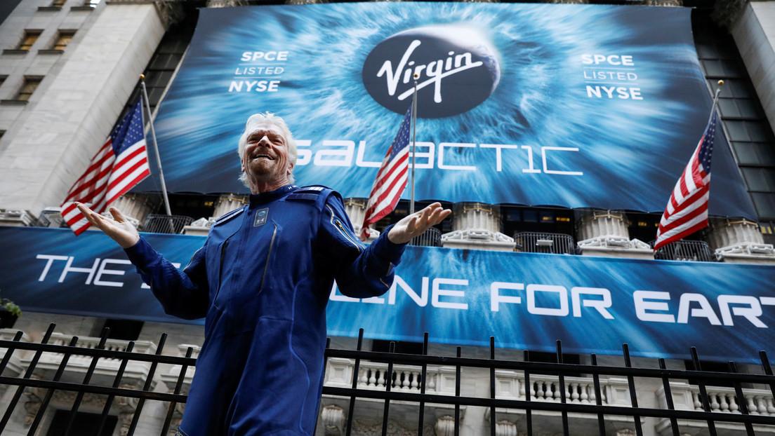 El multimillonario Richard Branson vendió parte de sus acciones de Virgin Galactic por 150 millones de dólares