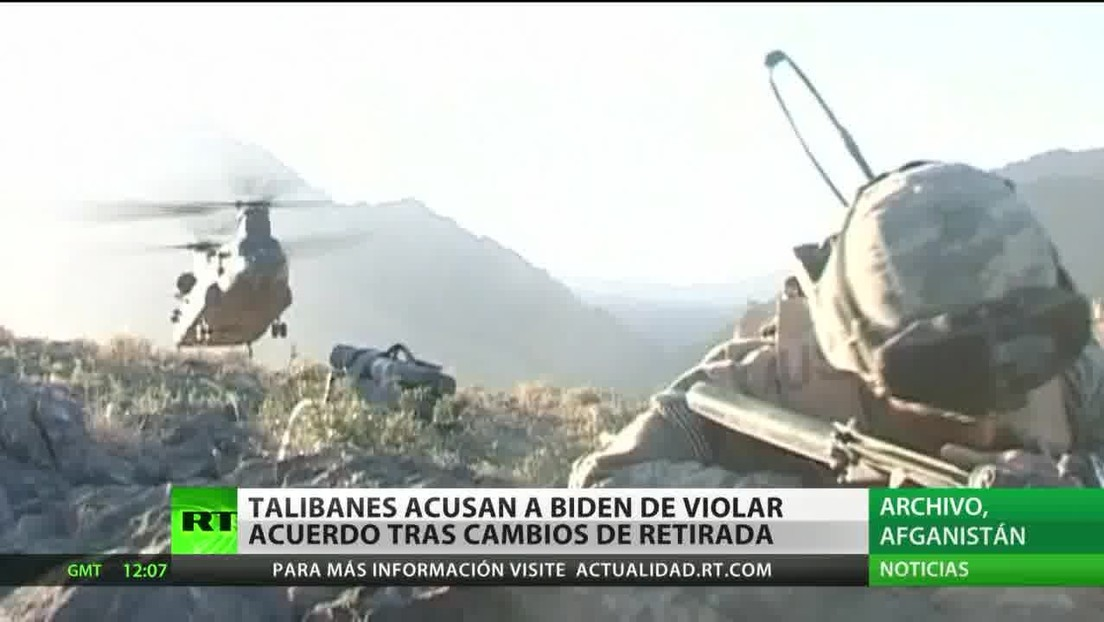 Afganistán: Talibanes acusan a Biden de violar el acuerdo tras el aplazamiento de la retirada de tropas