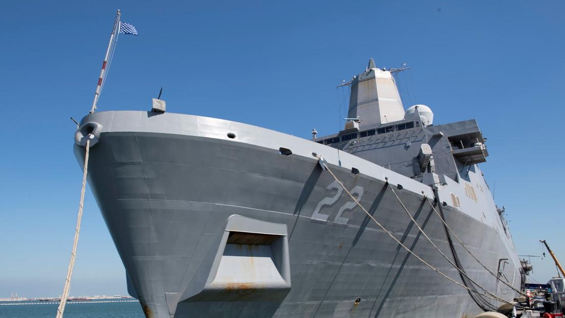 Un baile de 'twerking' en la botadura de un buque de guerra desata una polémica en Australia