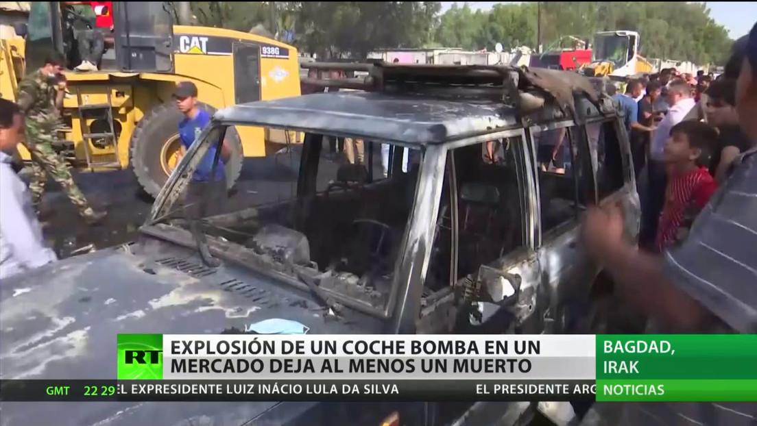Un coche bomba deja al menos un muerto en Irak