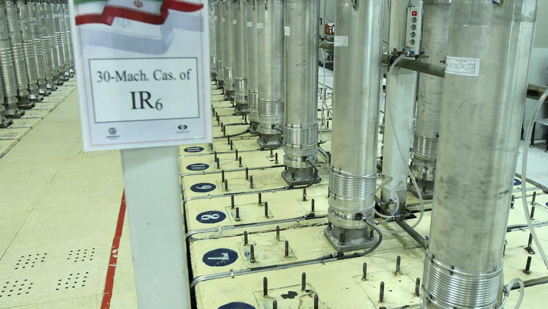 Irán anuncia que aumentó hasta el 60 % el enriquecimiento de uranio