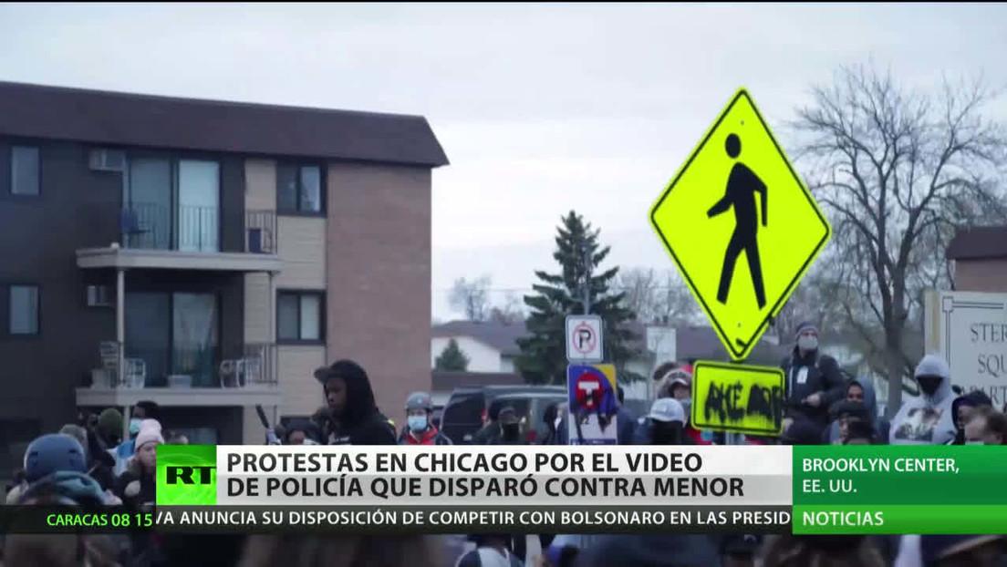 EE.UU.: Protestas en Chicago por el video del policía que baleó a un menor