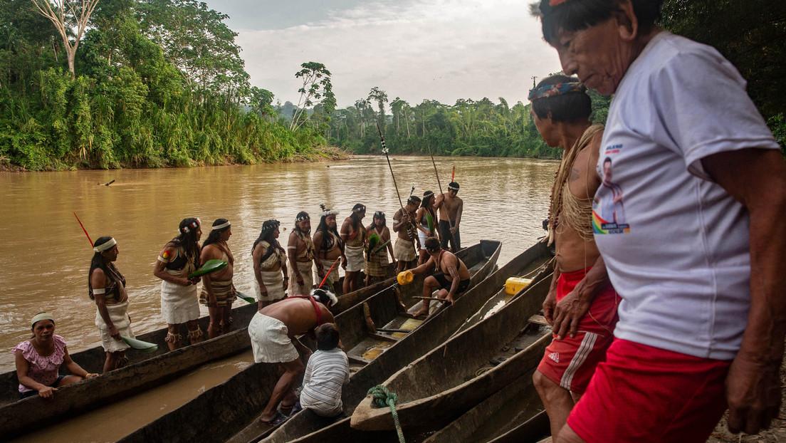 Indígenas waorani de Ecuador denuncian militarización de su territorio y uso desmedido de la fuerza para proteger a petroleras