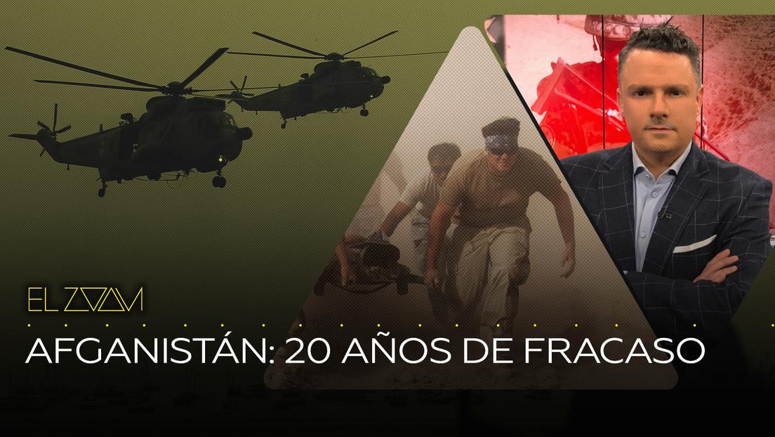 Afganistán: 20 años de fracaso