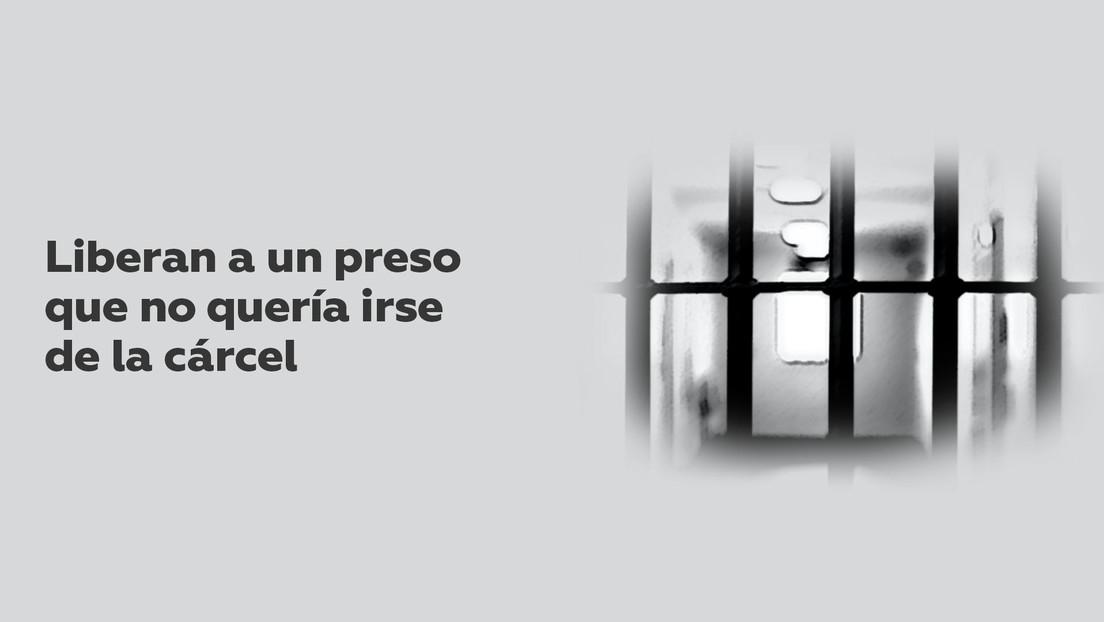 Liberan a un preso que ya había cumplido su pena hace 20 años y no quería irse de la cárcel