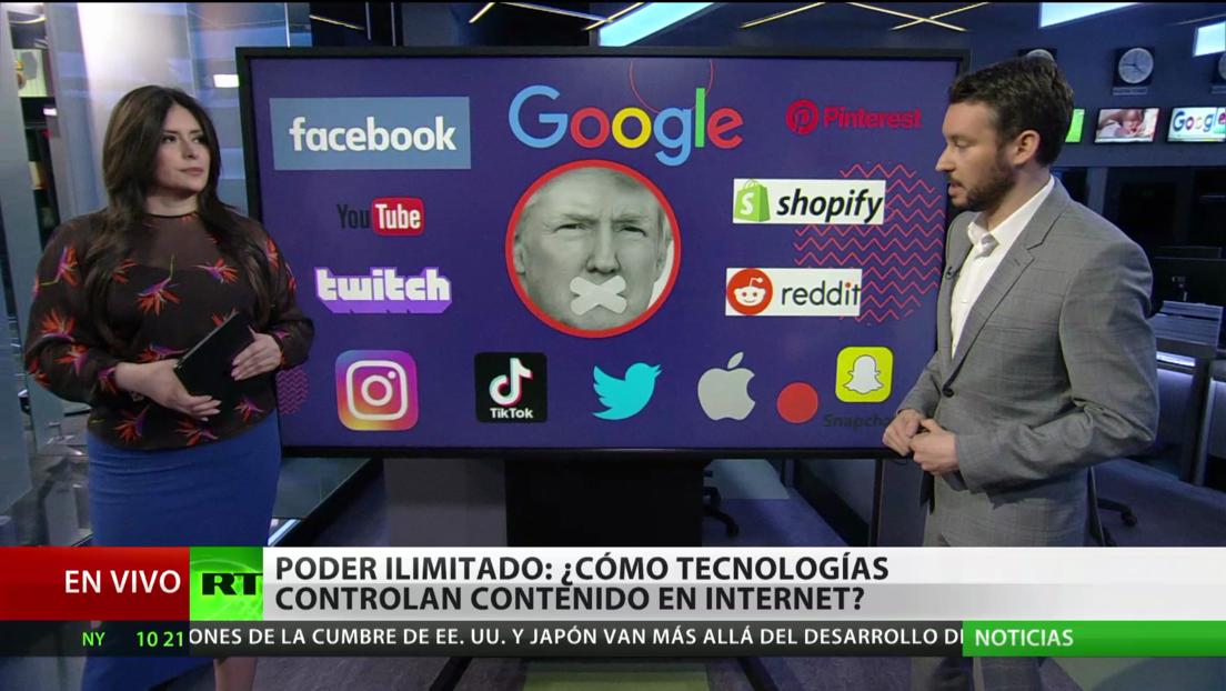 Poder ilimitado: ¿Cómo las grandes compañías tecnológicas controlan el contenido en Internet?
