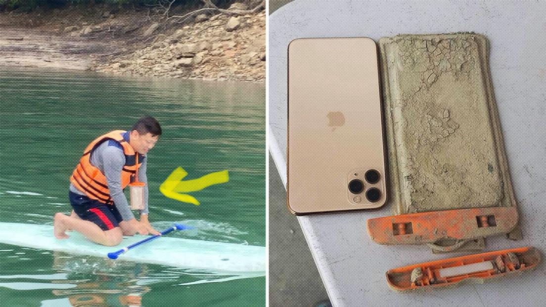 Un turista recupera el iPhone que perdió hace un año en un lago (y funciona perfectamente)