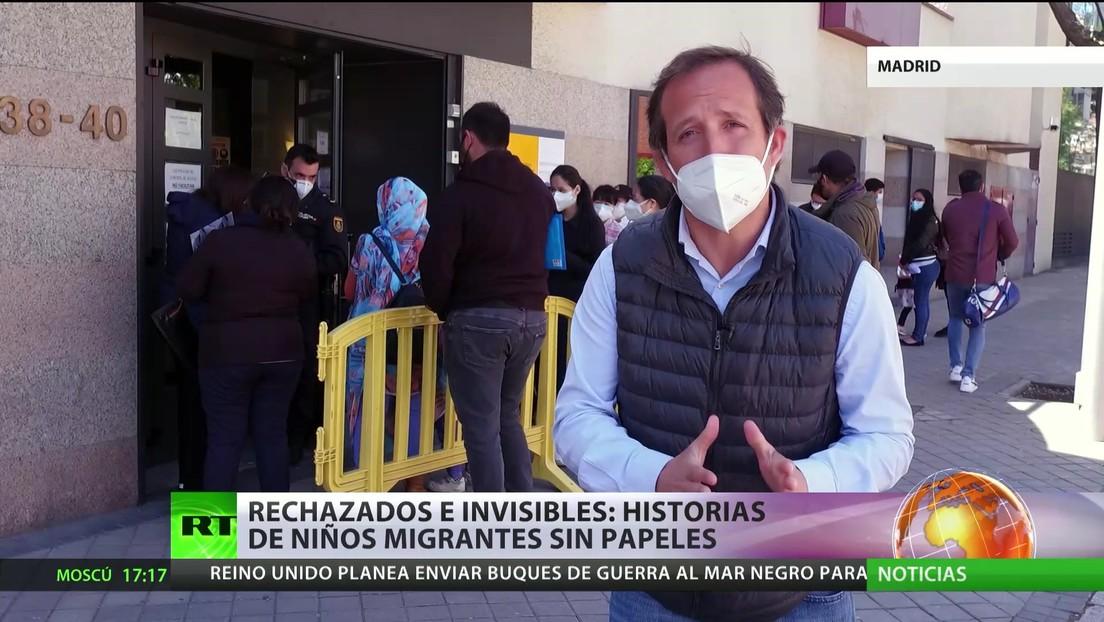 Rechazados e invisibles: historias de niños migrantes sin papeles en España