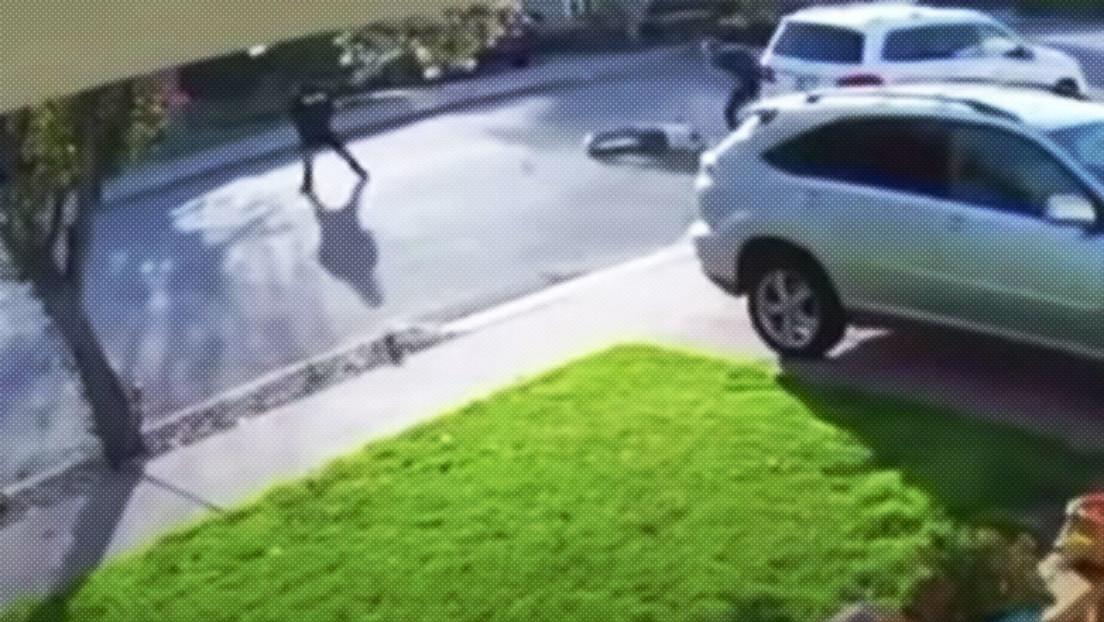 VIDEO: Un robo armado no va según lo planeado y sorprende a los propios ladrones