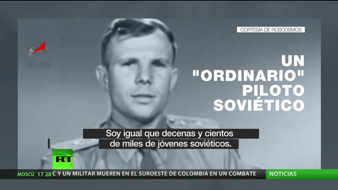 """""""Vámonos"""": RT celebra el Día de la Cosmonáutica con la famosa frase de Yuri Gagarin"""