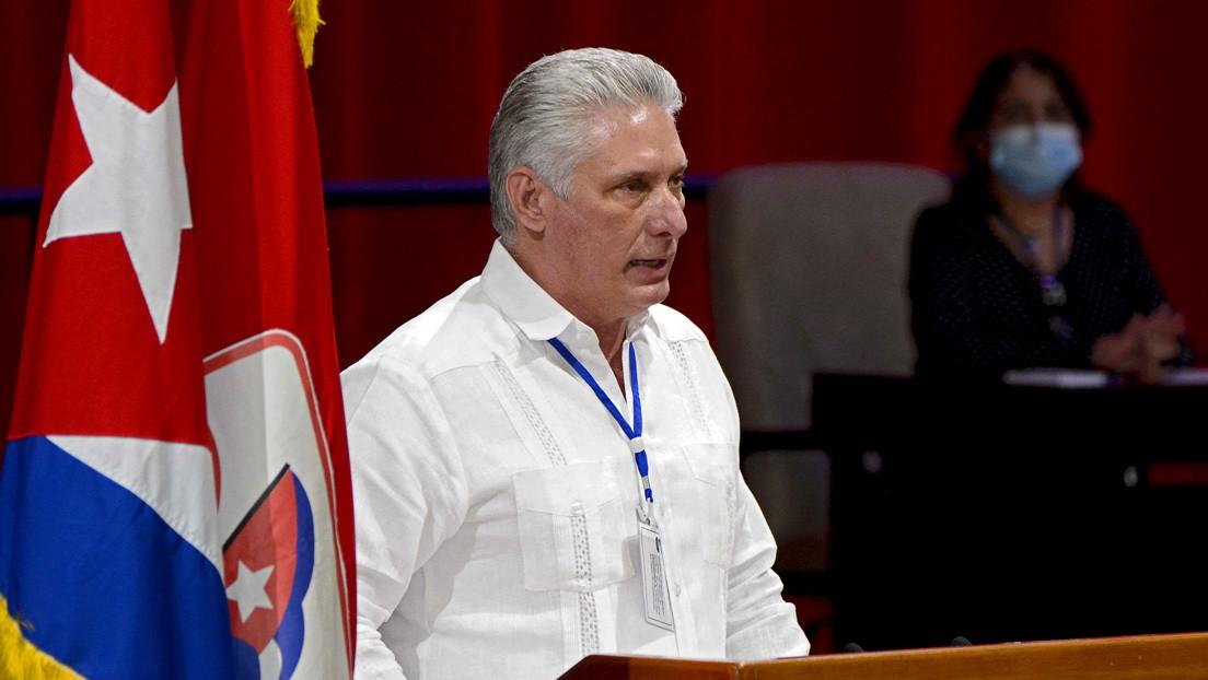 Miguel Díaz-Canel es elegido primer secretario del Partido Comunista de Cuba