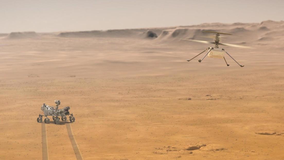 Qué hay que saber sobre el helicóptero Ingenuity de la NASA, la primera aeronave de la historia que sobrevuela otro planeta