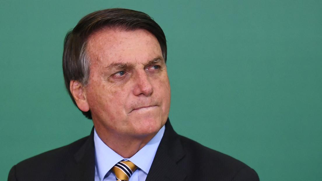 """Bolsonaro dice que las personas que voten a """"un tipo como Lula"""" en las elecciones de 2022  """"merecen sufrir"""""""