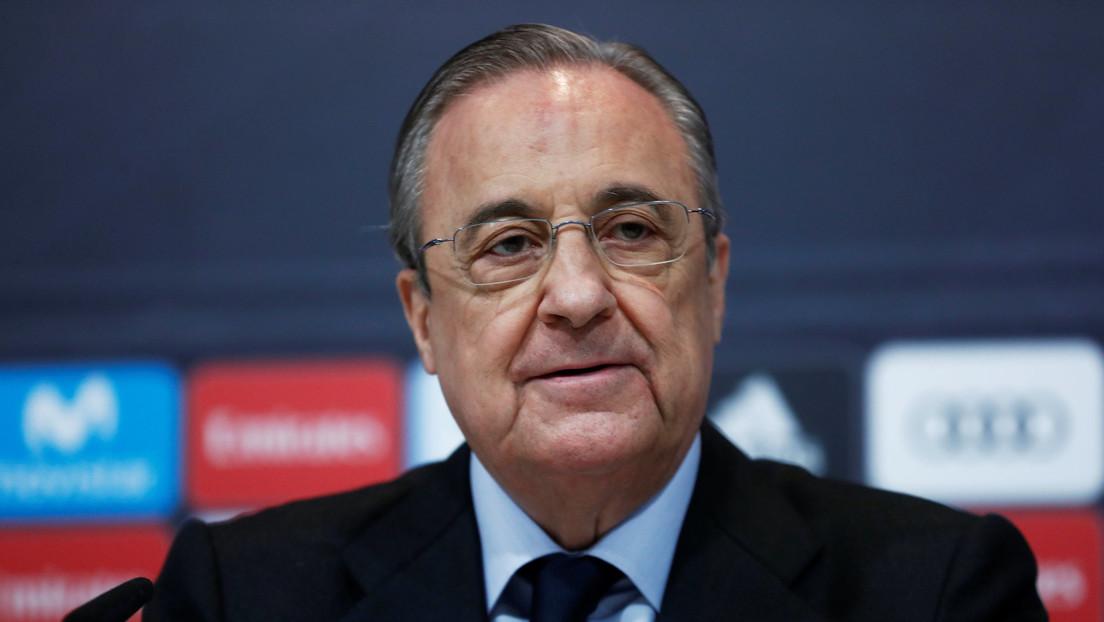 """""""Hacemos esto para salvar el fútbol"""": Florentino Pérez defiende y justifica la Superliga"""