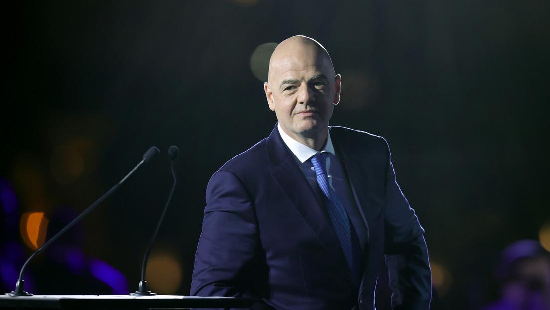 El presidente de la FIFA afirma que el organismo desaprueba la creación de la Superliga europea