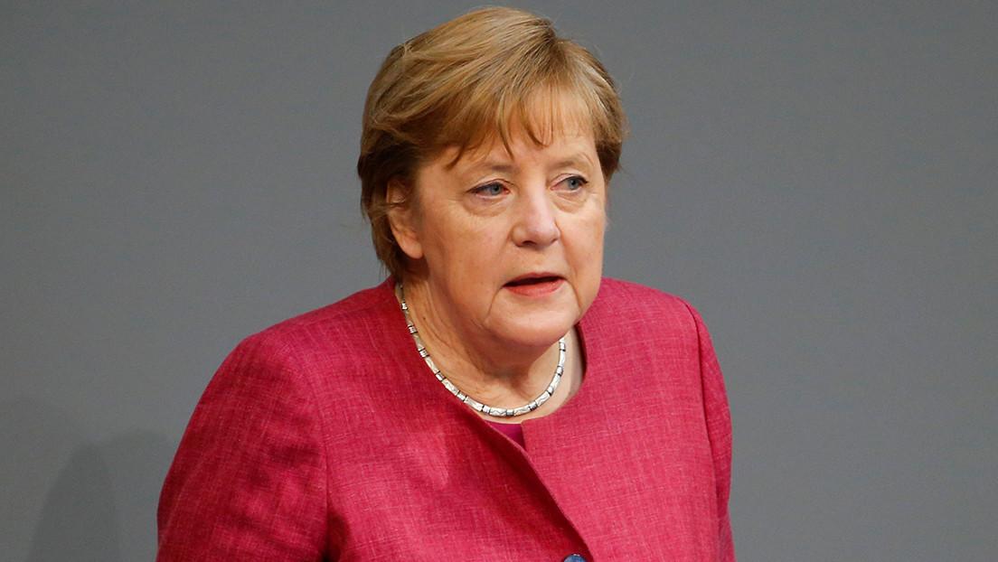 """Angela Merkel dice que el gas que llega por Nord Stream """"no es peor"""" que otro gas ruso"""