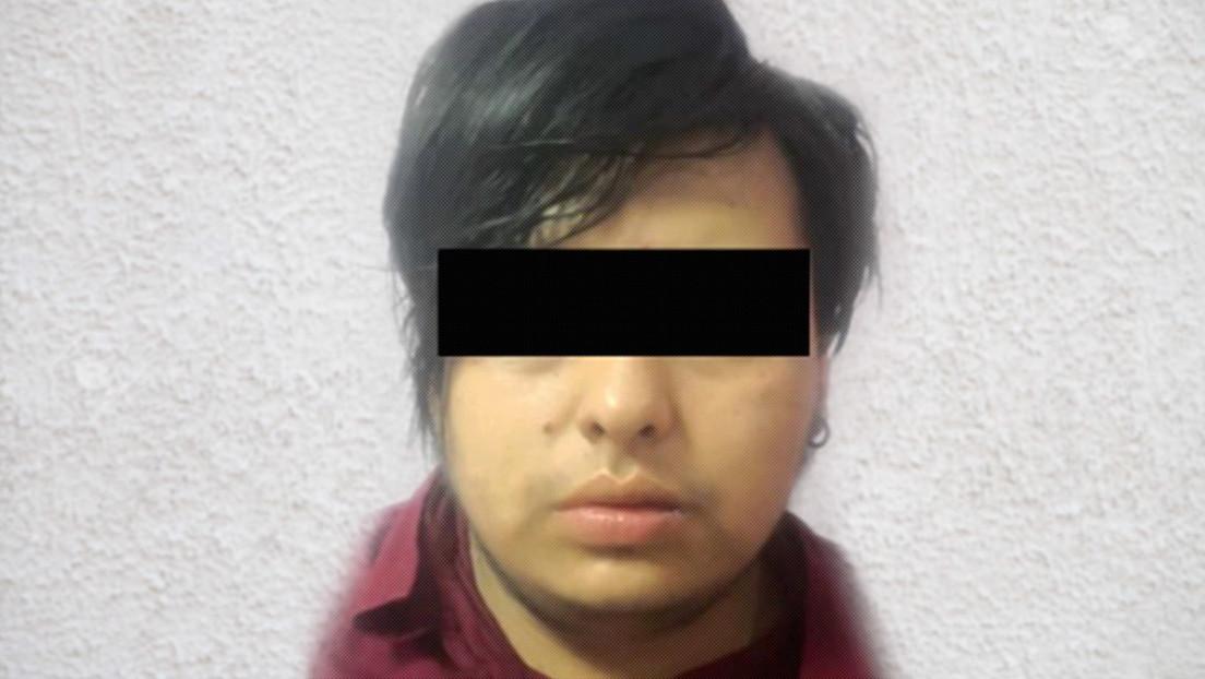 Sujeto acusado de feminicidio infantil en el Estado de México, 19 de abril de 2021.