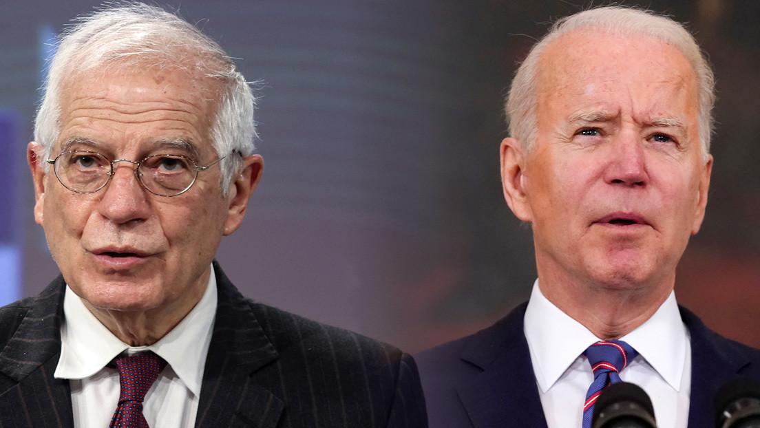 De rechazar invitaciones a descartar sanciones: las dudas de la UE ante la presión de Biden contra Rusia