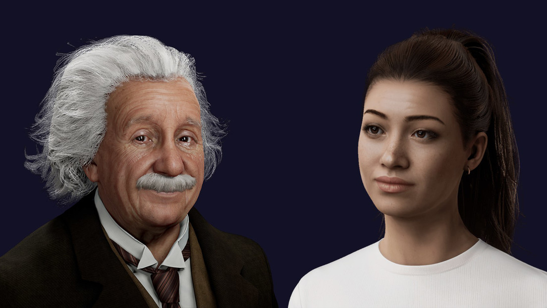 VIDEO: La inteligencia artificial hace posible 'hablar' con un Einstein digital
