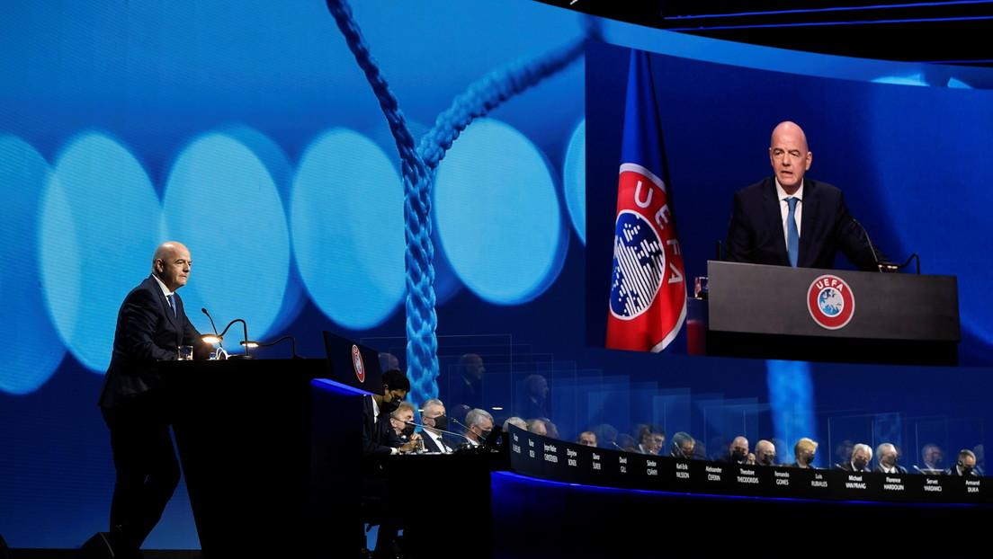 Todas las 55 federaciones integradas en la UEFA aprueban por unanimidad una declaración contra la creación de la Superliga