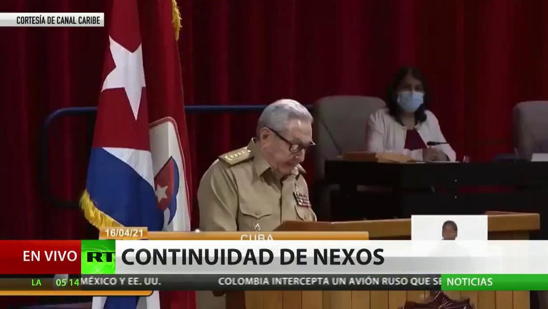 Putin felicita a Díaz-Canel por su elección como primer secretario del Partido Comunista de Cuba