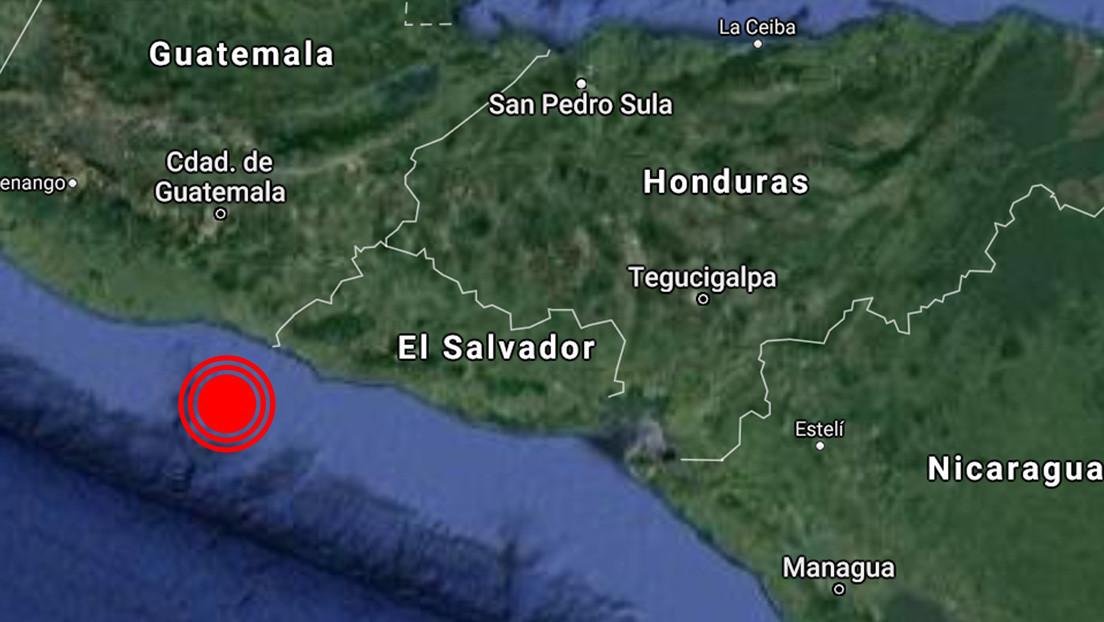 Un sismo de magnitud 4,6 sacude varios departamentos de El Salvador
