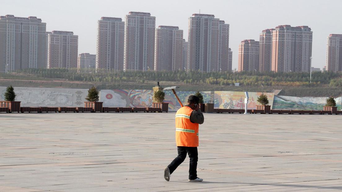 """Ordos Kangbashi, la """"ciudad fantasma"""" más grande de China, vuelve a florecer"""