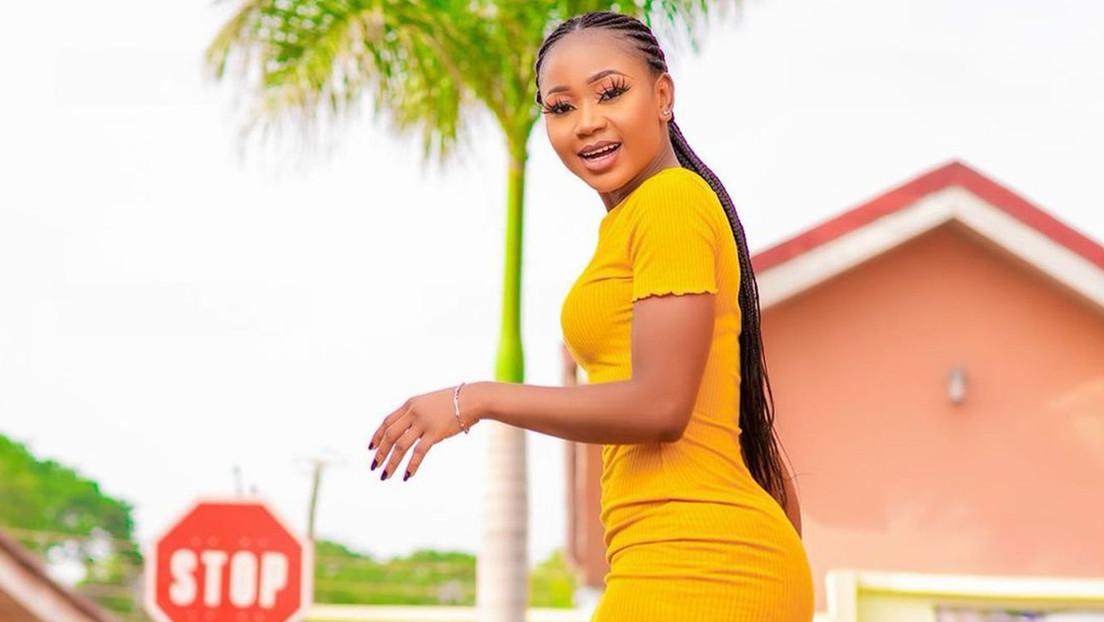 Actriz ghanesa Rosemond Brown