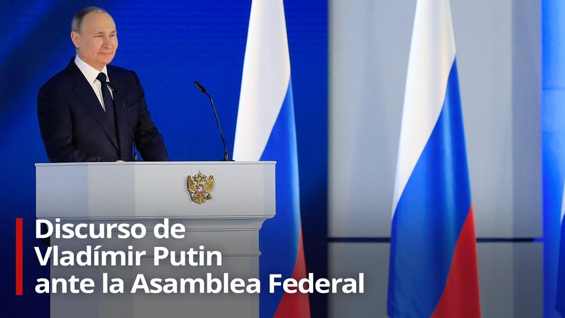 Amenazas a la seguridad de Rusia, pandemia y medioambiente: los temas clave del discurso anual de Putin ante la Asamblea Federal