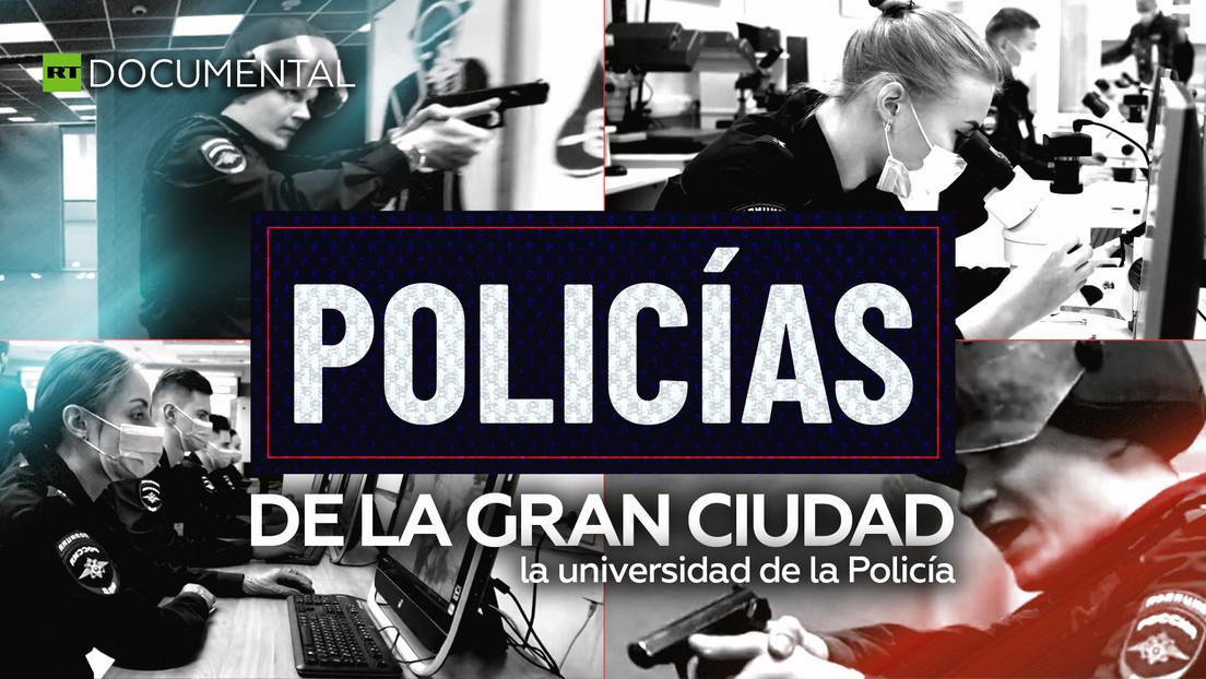 Policías de la gran ciudad: la universidad de la Policía