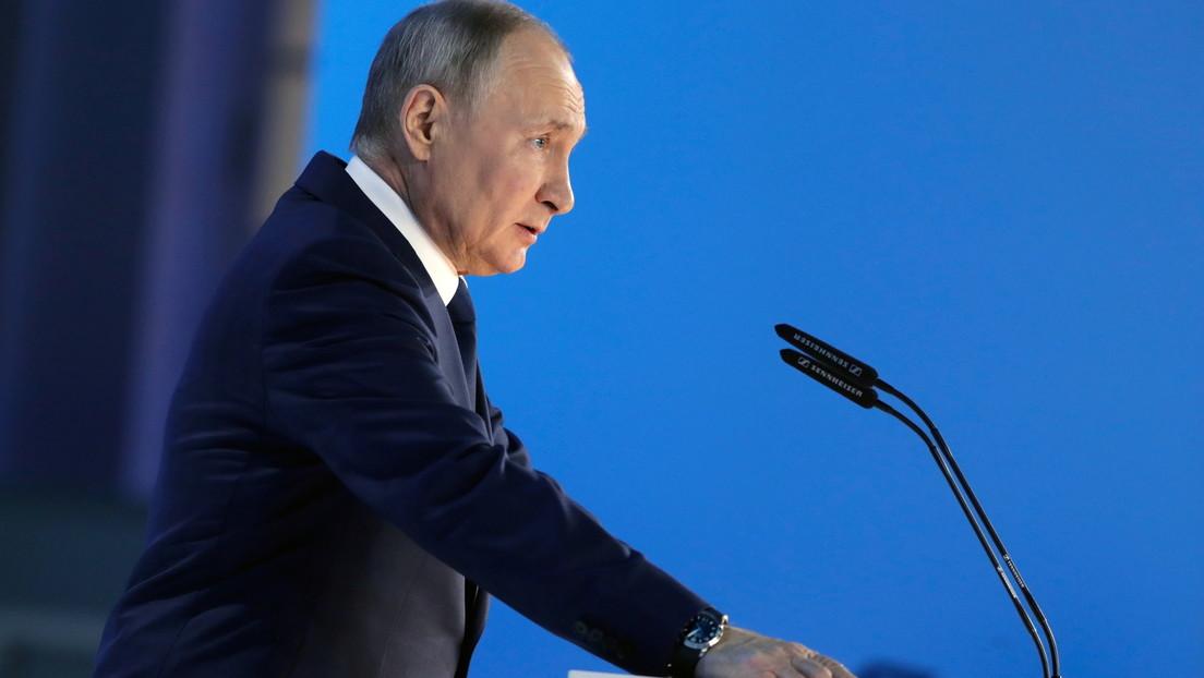 """Putin: """"Autores de provocaciones que amenacen intereses de la seguridad de Rusia se arrepentirán como no se han arrepentido desde hace mucho tiempo"""""""