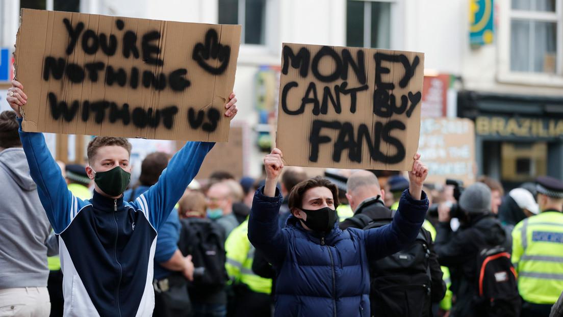 Lo que revela el auge y la caída de la Superliga europea de fútbol