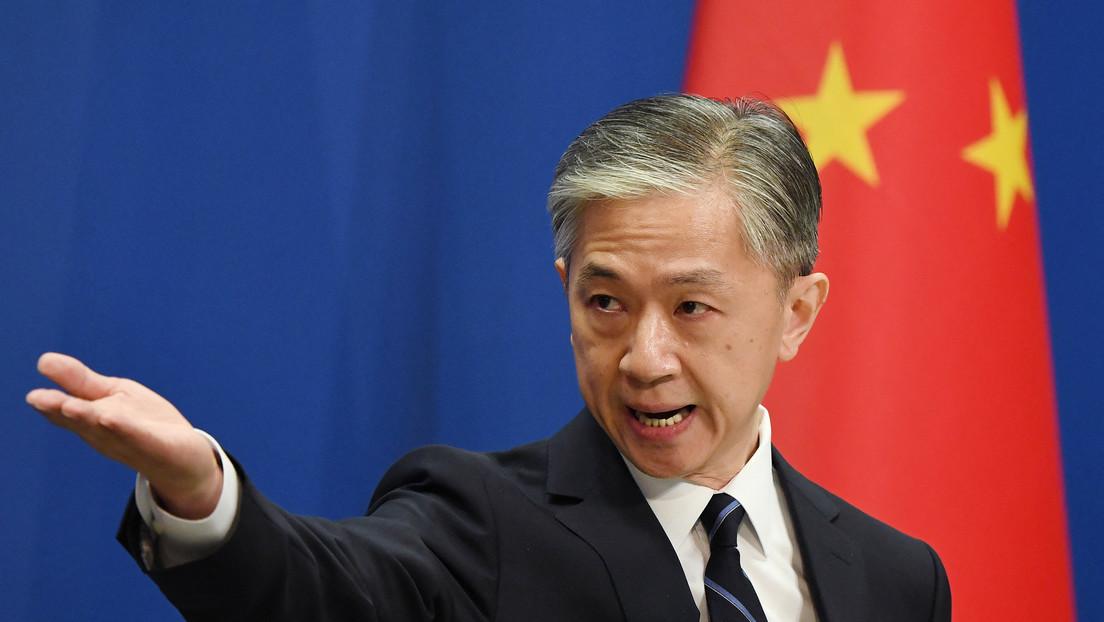 Portavoz del Ministerio de Asuntos Exteriores de China Wang Wenbin