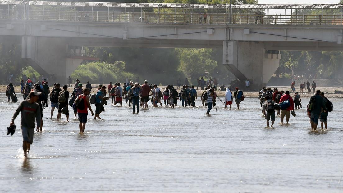México anuncia un plan para reforzar la vigilancia en la frontera sur e impedir el flujo de migrantes hacia EE.UU.