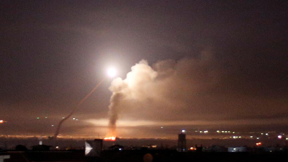 """Damasco repele una """"agresión"""" israelí mientras Tel Aviv denuncia la caída cerca de un reactor nuclear de un misil lanzado desde territorio sirio"""