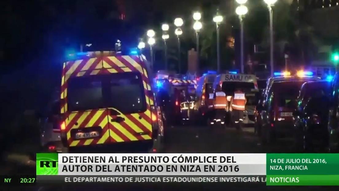 Detienen en Italia al presunto cómplice del autor del atentado en Niza de 2016