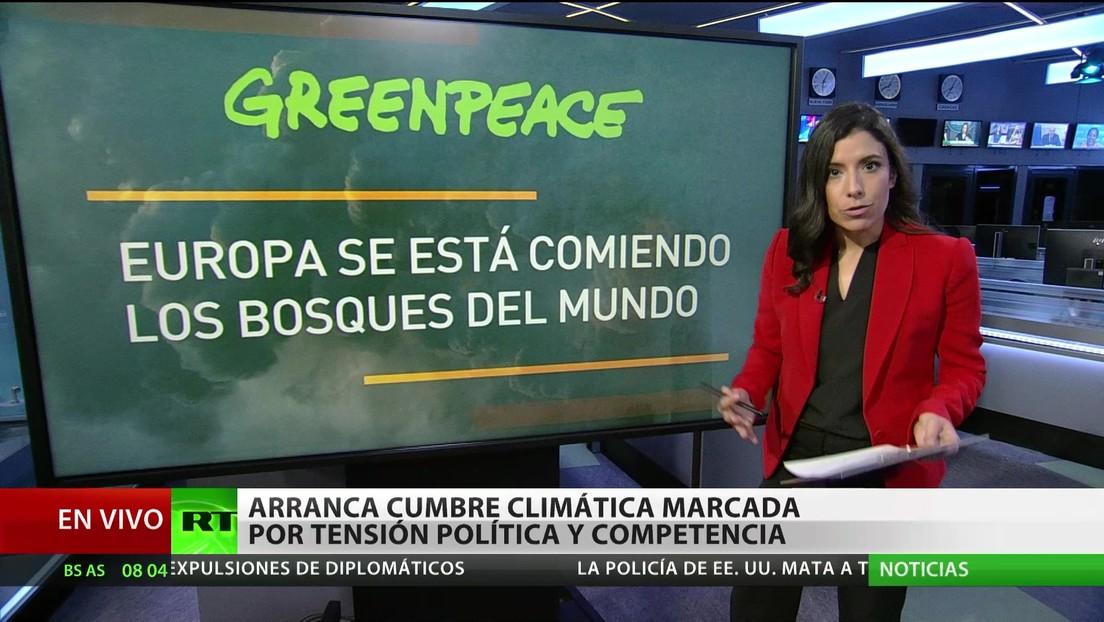 Comienza la cumbre climática marcada por la tensión política y la competencia