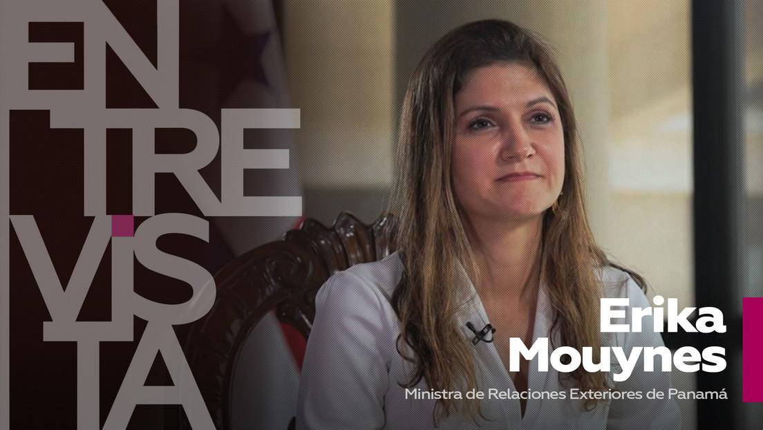 """Ministra de Relaciones Exteriores de Panamá: """"Los países que reciben migrantes tienen que hacerse responsables de atenderlos"""""""