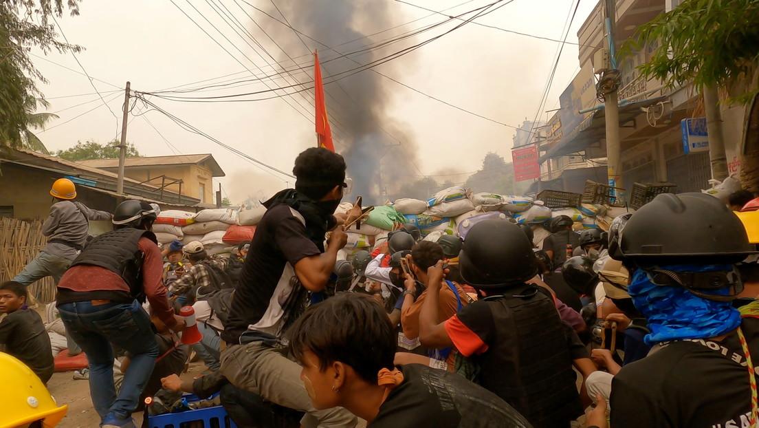 La violenta represión del Ejército de Myanmar deja más de 250.000 desplazados, según el enviado de la ONU