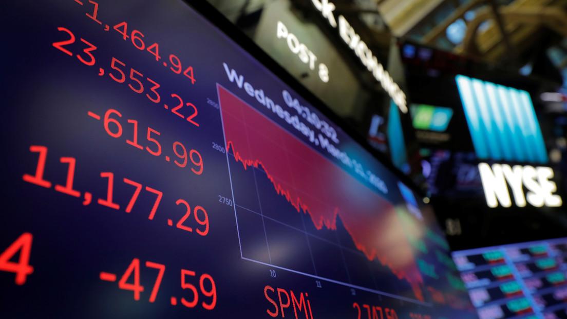 Los índices bursátiles de EE.UU. se desploman tras reportes de que Biden planea aumentar los impuestos a las ganancias de capital para los ricos