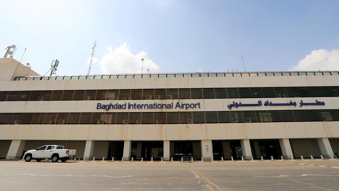 Varios misiles caen cerca del aeropuerto internacional de Bagdad, próximo a la base de la coalición liderada por EE.UU.