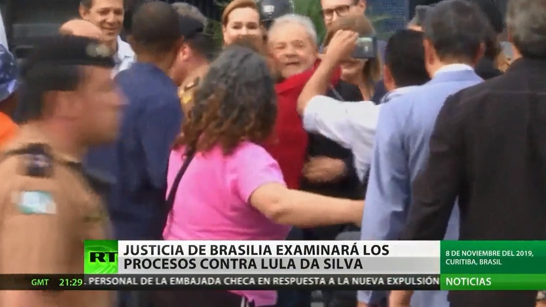 La Justicia brasileña revisará los procesos contra el expresidente Lula da Silva