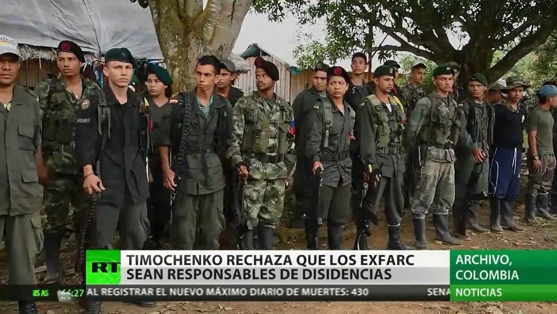 'Timochenko' rechaza que excombatientes de las FARC sean los responsables del surgimiento de disidencias