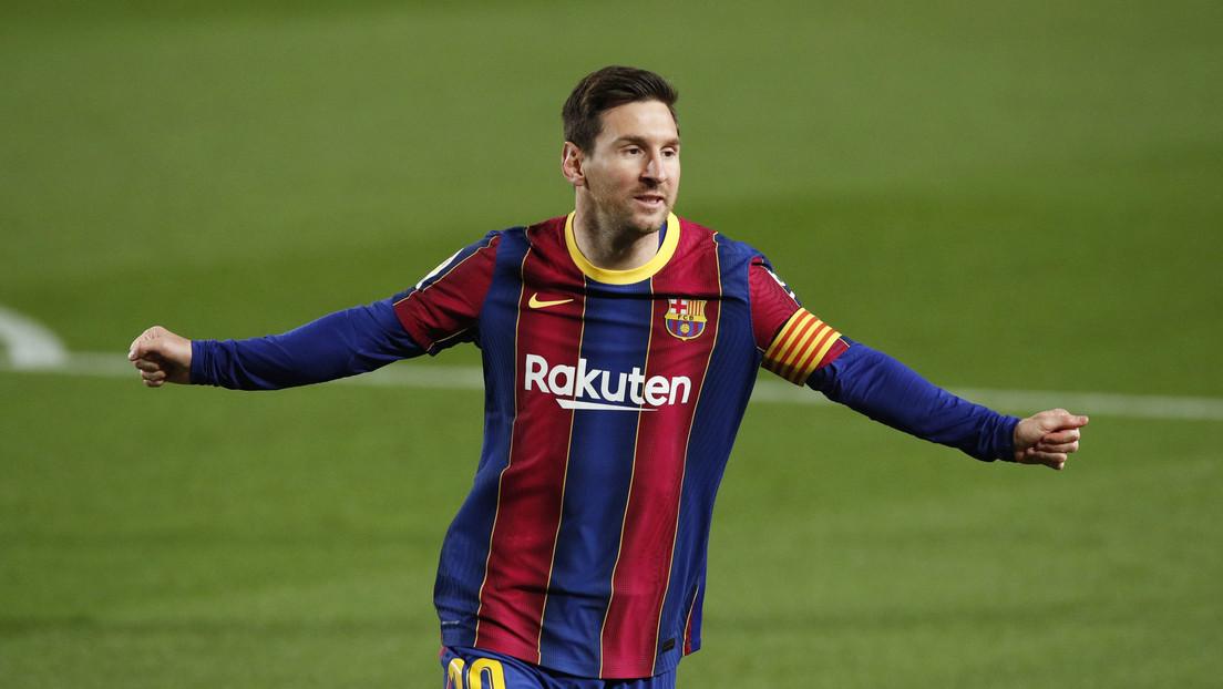 Doblete y nuevo récord:  Messi brilla en la goleada del Barcelona sobre el Getafe en La Liga