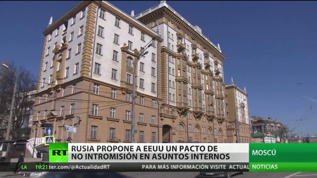 Rusia propone a EE.UU. intercambiar garantías de no interferencia en los asuntos internos de cada uno