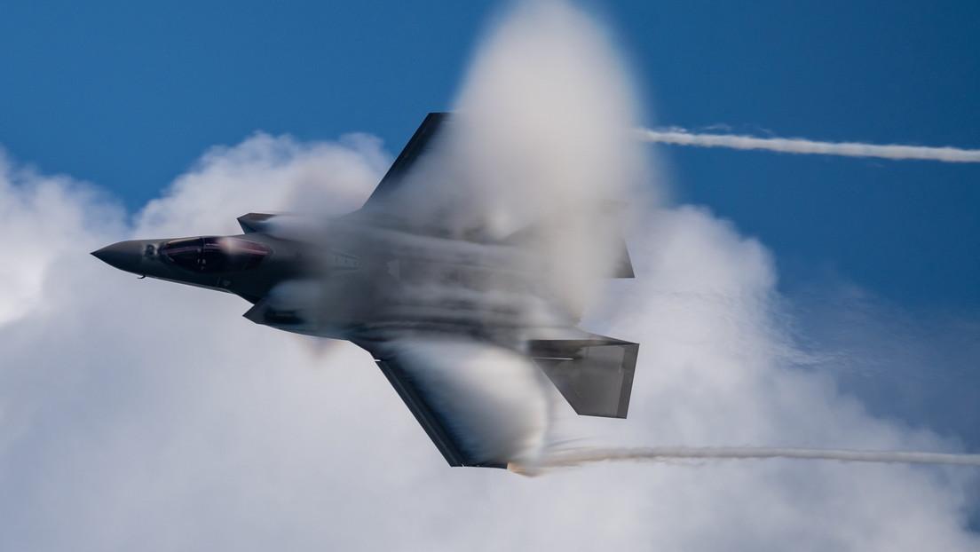 El Pentágono pone en pausa la actualización del sistema logístico del avión F-35 por recortes de financiación