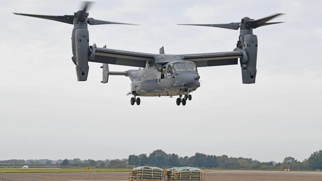 VIDEO: Aeronave militar de EE.UU. destruye un helipuerto durante un simulacro en un hospital británico e impide el aterrizaje de vuelos de emergencia